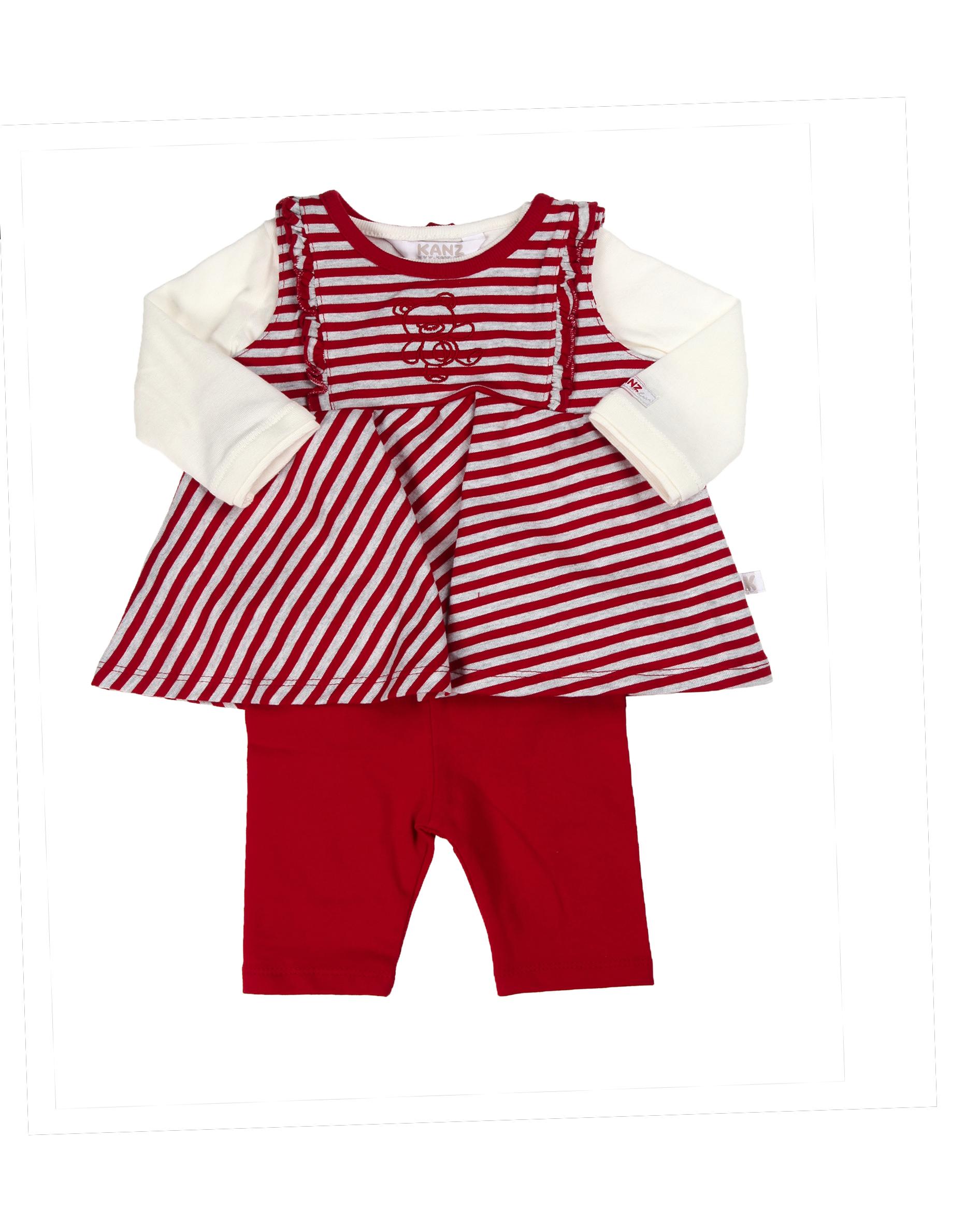 2 Teiler Fur Baby Madchen Grosse 56 Bis 86 Lunakids Online Shop