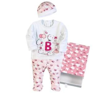 BOBOLI Geschenkbox rosa/weiß -LUNAkids| Online-Shop für Kindermode