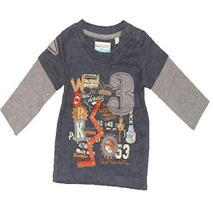 Blue Seven Baby Jungen Sweatshirt blueprint
