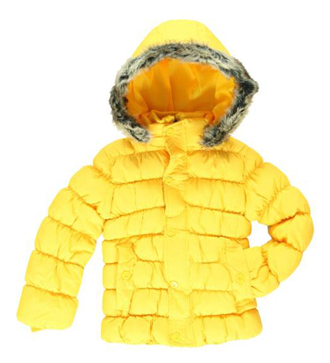 Emoi Winterjacke für Mädchen gelb o. fuchsia