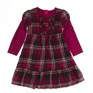 Königsmühle Mädchen Kleid rot
