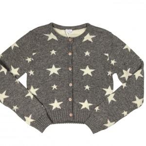 königsmühle strickjacke mit Sterne