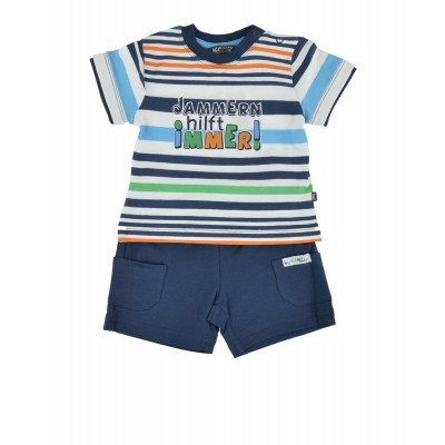 KANZ Baby Set T-Shirt + Bermudas dunkelblau