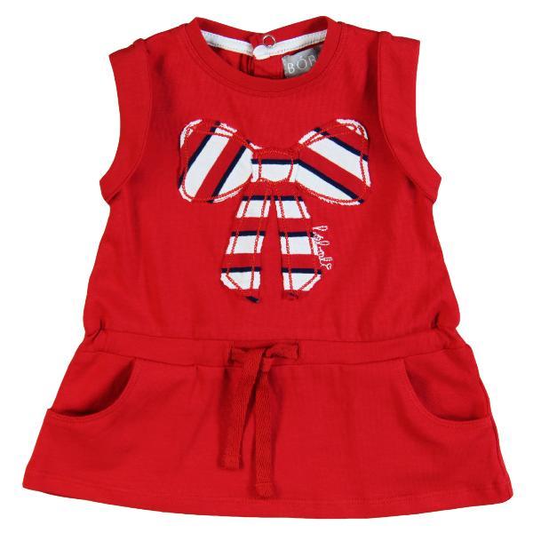 Boboli Mädchen Kleid in rot