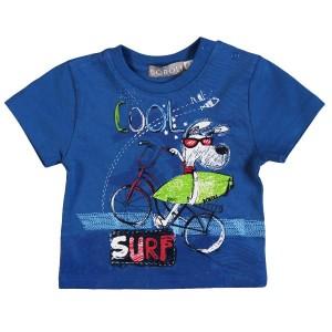 Boboli Surf T-Shirt in blau