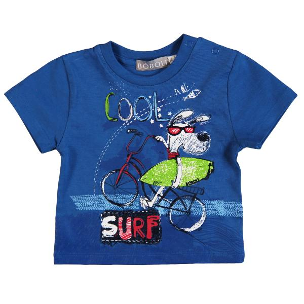 Boboli Surf T-Shirt in blau