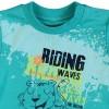 Boboli T-Shirt Riding in türkis