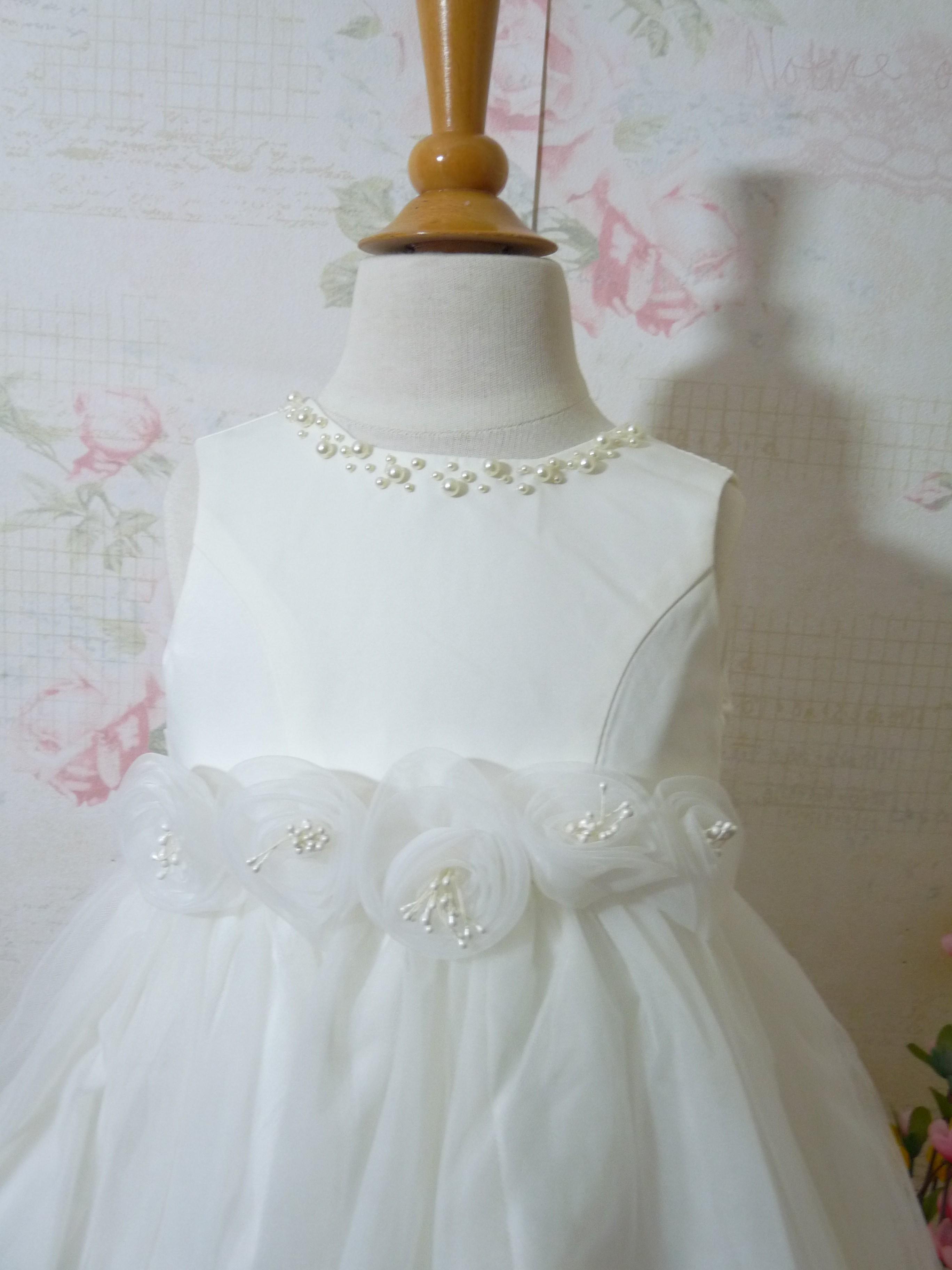 Taufkleid Festkleid für kleine Prinzessinnen Schickes Tauf- Kleidchen