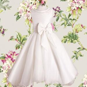 Taufkleid Blumenmädchenkleid
