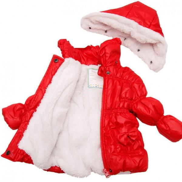 Tricky Tracks Winterjacke für Baby Mädchen