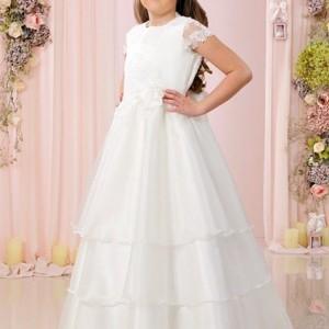 Kommunionkleid Kommunionskleid Kommunion Kleid Kommunionkleid mit Spitze Weiß